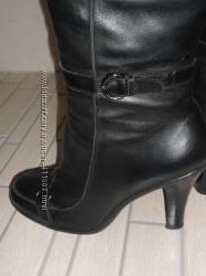 Зимние кожаные сапоги 40 размер Luciano Carvari