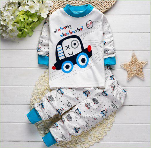 Пижамки на веснуосень мальчишкам отличного качества