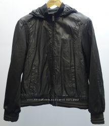 Куртка Guess кожзам и ткань M-L