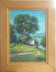 Картина Сельский пейзаж Авторская работа