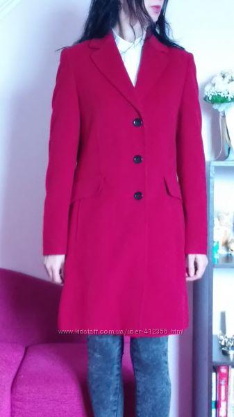 Красное шерстяное пальто Basler оригинал