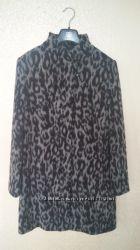 Леопардовое шерстяное пальто Basler оригинал