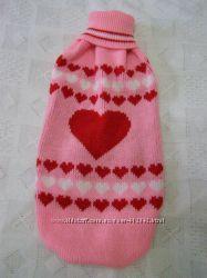 Одежда  для собаки сердечко на день Валентина