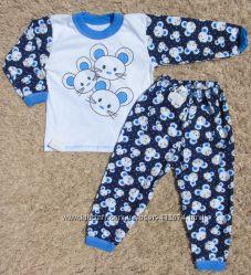 Пижамки кулир лето-весна для ваших деток по супер цене