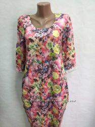Красивые платья на 44-46р. , ткань двунить