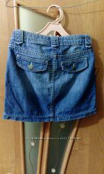 Джинсовая юбочка GAP размер 10