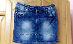 Юбка джинсовая Yessica от C&A размер 40 евро