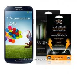 защитная пленка ULTIMATE для телефона Samsung Galaxy S4, ПРОЧНАЯ