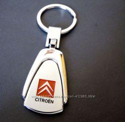 Авто брелок Ситроен Citroen, металл, отличный подарок