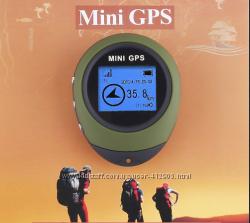 Портативный мини gps навигатор PG03 - брелок для туристов, грибников и т. п