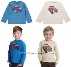 Модные регланы для мальчиков Mothercare Англия