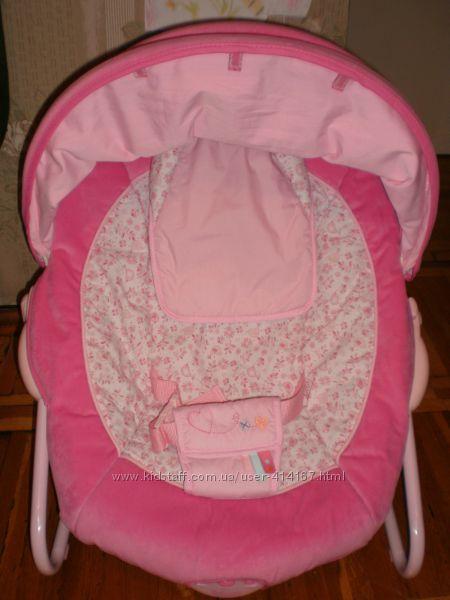массажное кресло шезлонг для малыша BabiesRus