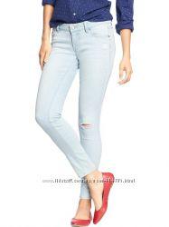Выбеленные джинсы Олд нэви размер 4 long