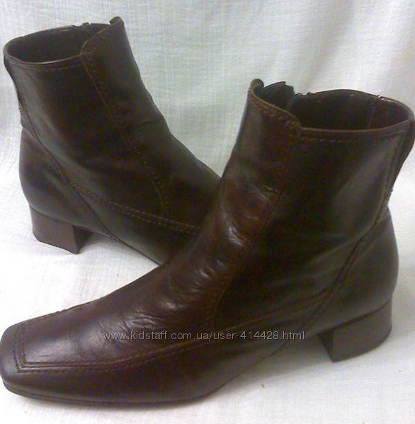 Кожаные ботинки  Gabor. 40 размер.