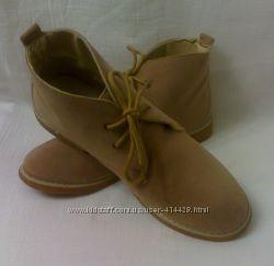 Бежевые ботиночки. 39-40 размер. Англия