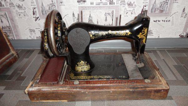 Швейная машинка Зингер оригинал раритет 1907 года рабочая