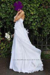 Свадебное  платье от CARLO PIGNATELLI