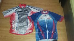 футболки спорт  M оригинал, вело SALOMON оригинал