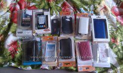 кожаный чехол на телефон samsung, galaxy ace2 mini s5250 htc nokia iphone 4