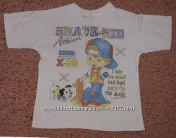 Хорошие футболки от 2 лет  6шт.