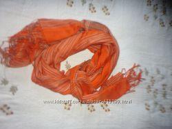 Оранжевий шарф