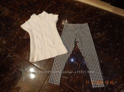 Модненькая брендовая одежка для девченки 5-6лет