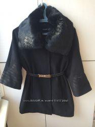 стильное пальто с укороченными рукавами