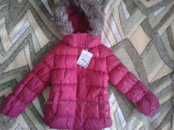 Новая куртка C&A р. 92-98 Две шт. для близнецов можно