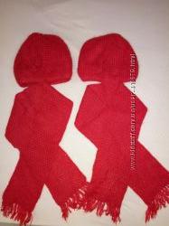 шапки для двойняшек, близняшек, на 6-10 лет