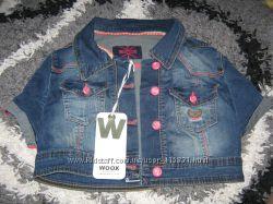 Летняя курточка-болеро WOOX, турция, размеры хс, с, м