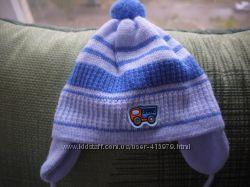 Красивая зимняя шапка 0-9