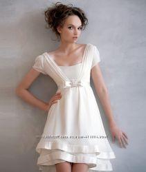 Papilio платье короткое свадебное или вечернее, р. 44 или М