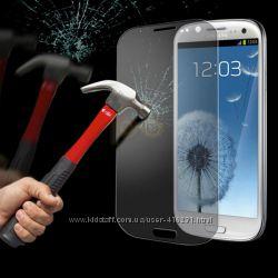 Защитное стекло Samsung Galaxy S3, S5  и другие модели