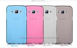 Акция Чехол силикон  плюс защитное стекло Samsung J5  и J7  и S3