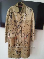 супер пальто из пони новое 46 размер