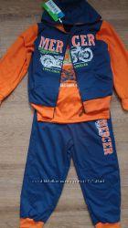 Трикотажный спортивный костюм тройка мальчику в наличии от 98 до 152