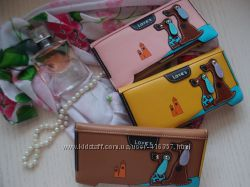 Яркие стильные женские кошельки портмоне