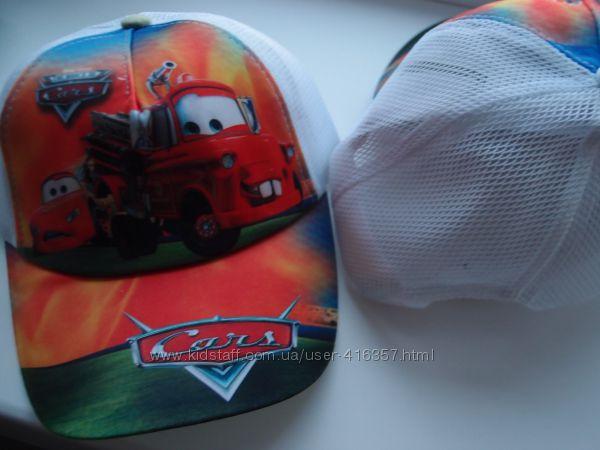 Бейсболки кепки сеточка Тачки   50-56 размер
