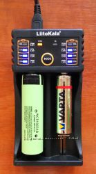 LiitoKala Lii 202 универсальная зарядка power bank 18650