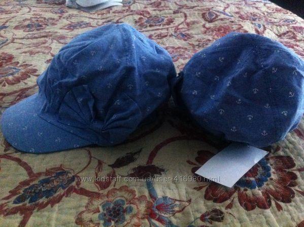 Новые хлопковые кепочки для девочек H&M