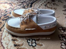 Новые оригинальные туфли Timberland с натуральной кожи