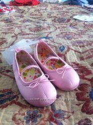 Новые балетки и туфельки H&M для  маленьких девочек