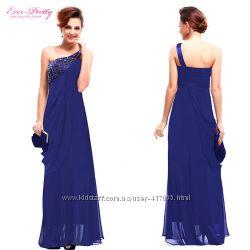 Шикарное Вечернее Платье длинное в пол из шифона в наличии