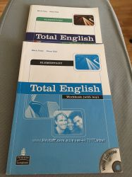 Учебник и рабочая тетрадь Total English
