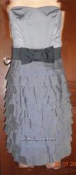 Платье для вечеринки коктейльное корсет