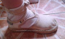 Босоножки эспадрильи для девочки из натуральных материалов