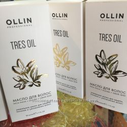 Новинка от Ollin масло tres oil