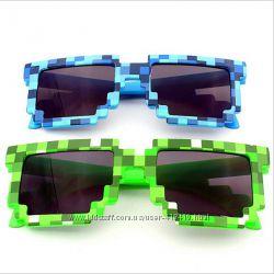 Очки солнцезащитные Minecraft. Разные цвета