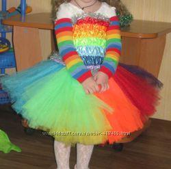 костюм радуга