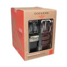 Набор кожаных мужских ремней Dockers